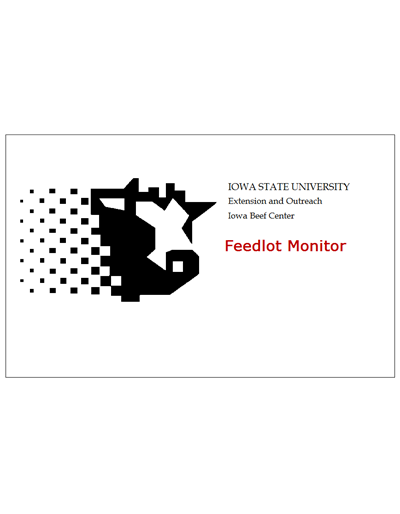 ISU Beef Feedlot Monitor Software